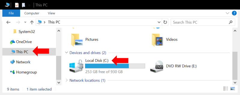 enabling BitLocker on a drive in Windows 10