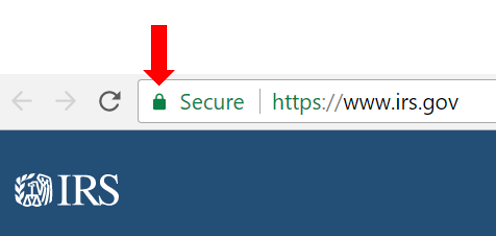 HTTPS icon in Chrome