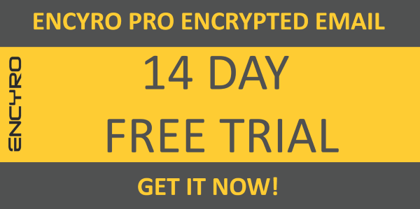 Ad: Free Trial Encrypted Email