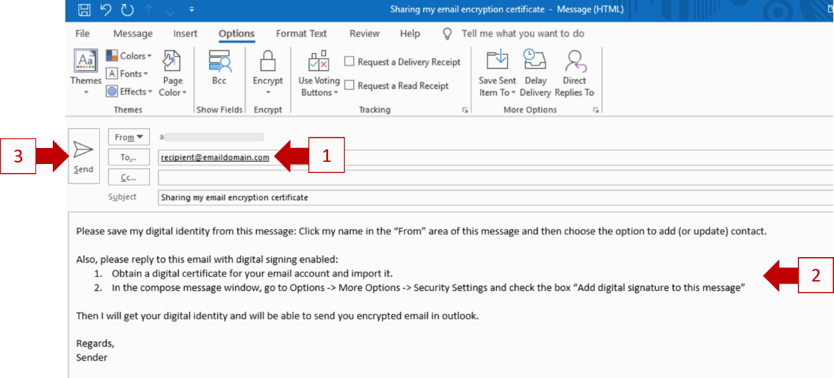 Encrypt Outlook Email >> Three Ways To Encrypt Email In Outlook Comparison And Setup